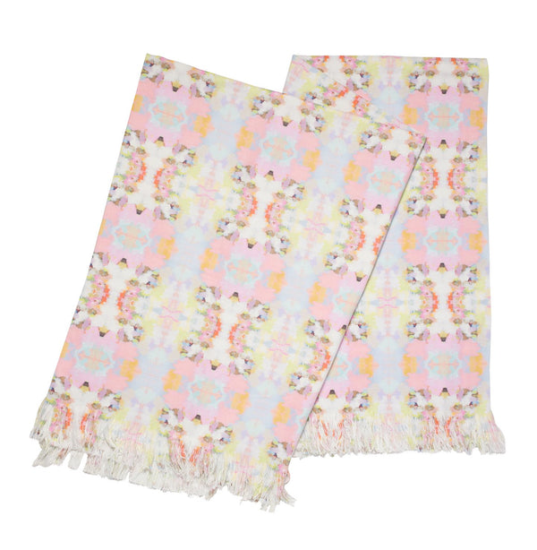 Brooks Avenue Pink Throw Blanket