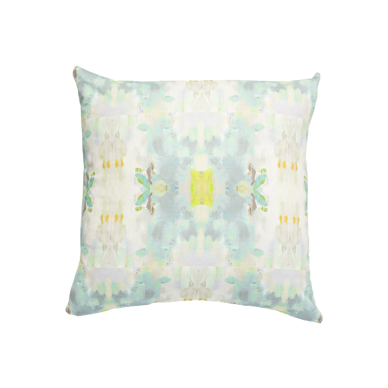 Coral Bay Green Faux Hide Pillow
