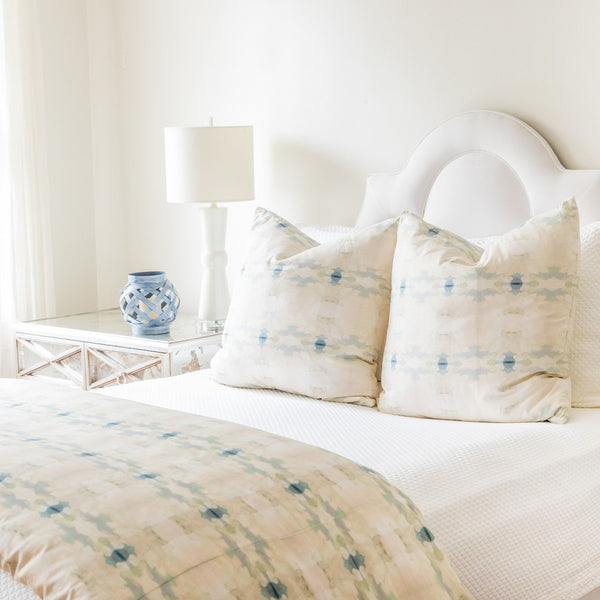 Coral Bay Pale Blue Duvet Cover