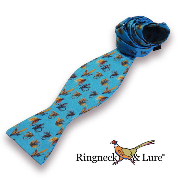 Fly Lures Cerulean Bow Tie