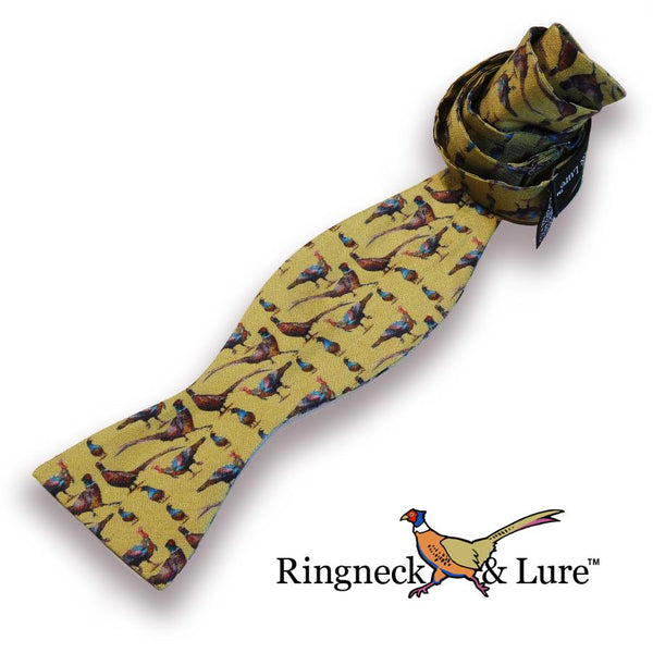Gamebirds Olive Bow Tie