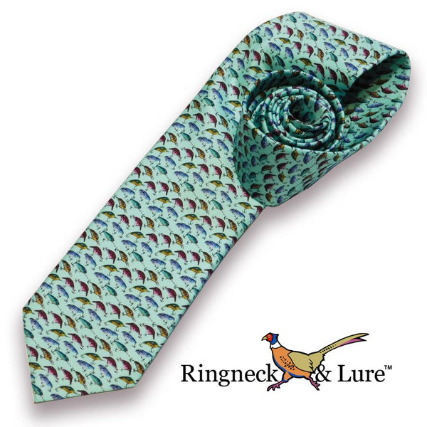 Lake Lures-Teal Necktie