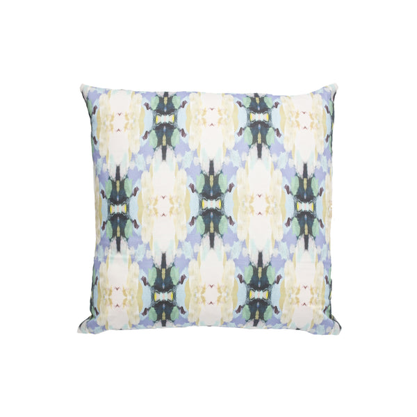 Lawson's Park Blue Linen Cotton Pillow