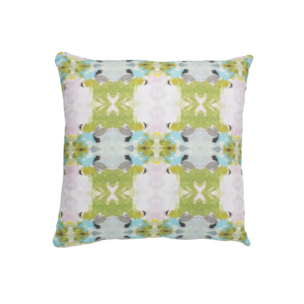 Lawson's Park Green Linen Cotton Pillow