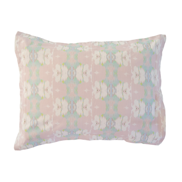 "Butterfly Garden Blush Sham <span style=""color:#00ADB3;font-weight:600;"">NEW</span>"