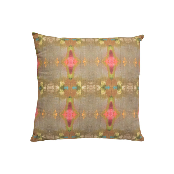 Under the Sea Brown Faux Hide Pillow