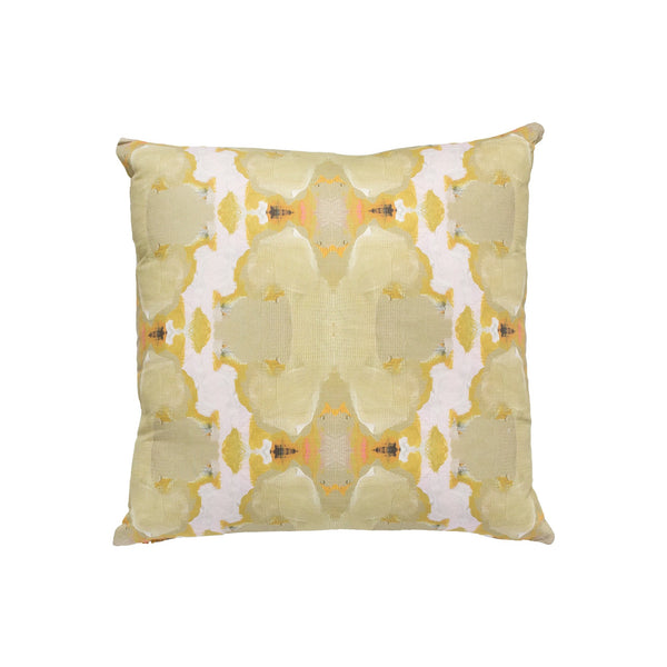 Under the Sea Taupe Linen Cotton Pillow