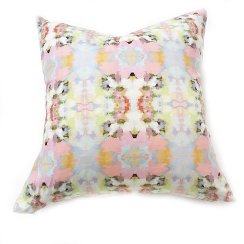 Brooks Avenue Pink Faux Hide Pillow