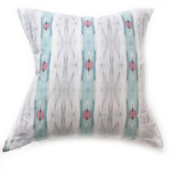 Brooks Avenue Sky Linen Cotton Pillow