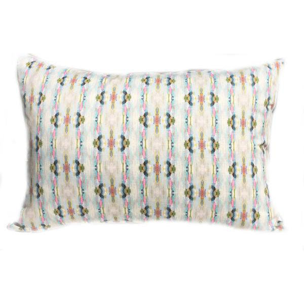 California Dreaming Navy Linen Cotton Pillow
