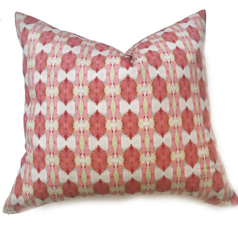 Cinco de Mayo Pink Faux Hide Pillow