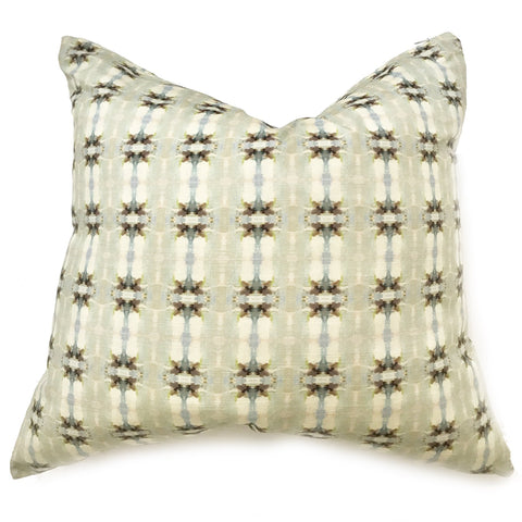 Coco's Field Brown Faux Hide Pillow