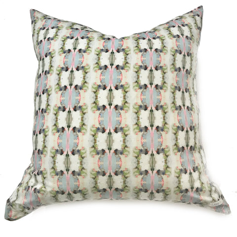 Cool as a Cucumber Faux Hide Pillow