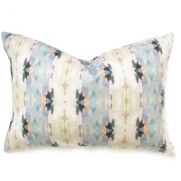 Pumpkin Spice Navy Linen Cotton Pillow