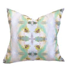 Sundance Green Linen Cotton Pillow