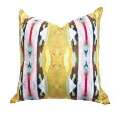 Sundance Pink Faux Hide Pillow