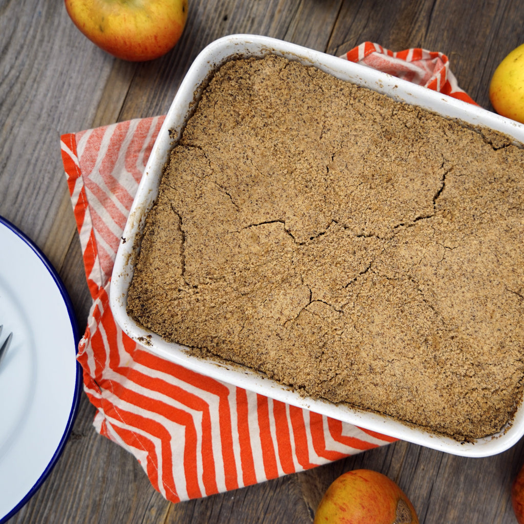 Apple & ginger crumble