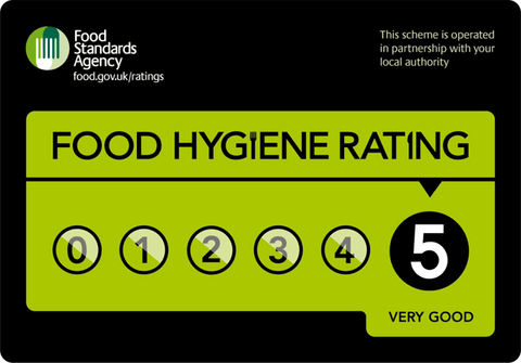 Ginger & Parsley has a 5-star Food Hygiene Rating