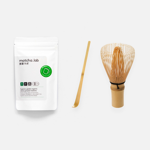 Superior grade matcha.lab Gift Set