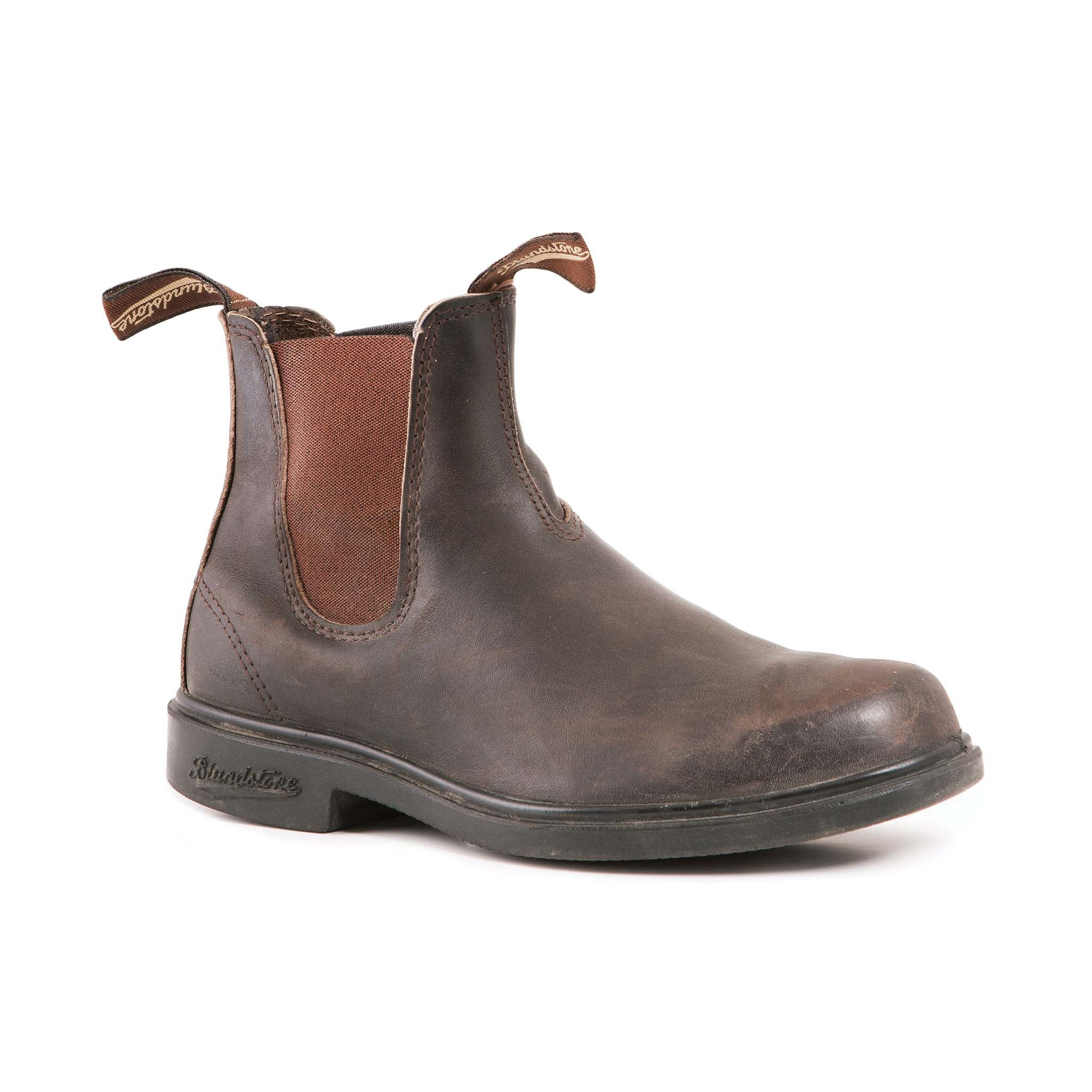 35b0dd5bfc1 067 Blundstone Chisel Toe Dress Stout Brown