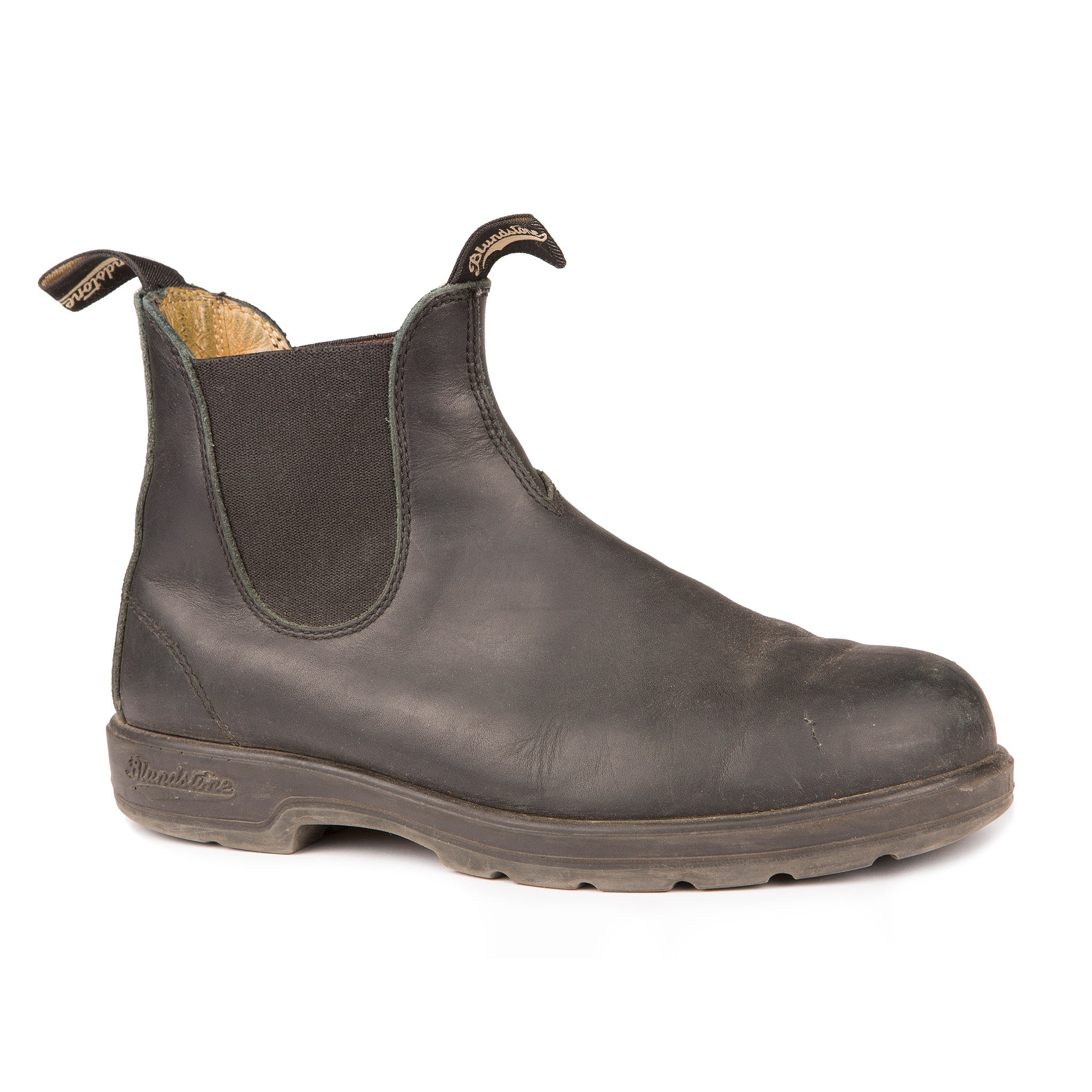 87849521998 558 Blundstone Leather Lined Classic Black