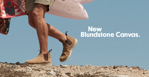 Blundstone Canvas Now In Stock Pull On Canvas Blundstone Boots Australian Boot Company Canada