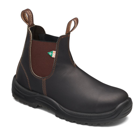 Blundstone 162 Work & Safety Boot Stout Brown