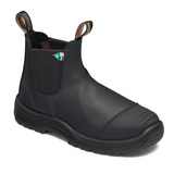 Blundstone 165 Work & Safety Boot Met Guard Black