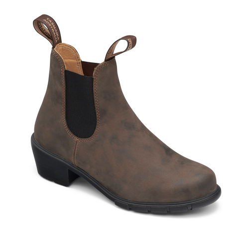 Blundstone 1677 Women's Series Heel Rustic Brown