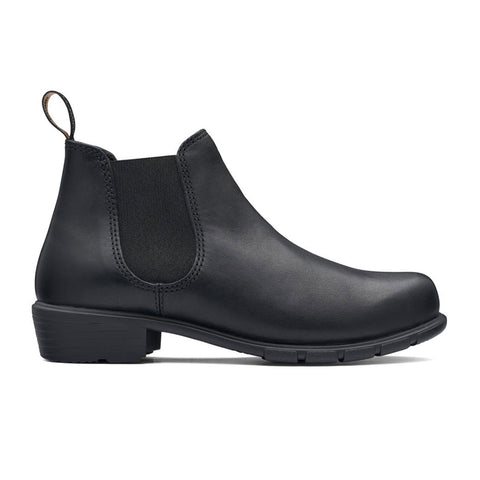 Women's Blundstone Boot with a Low heel in Black