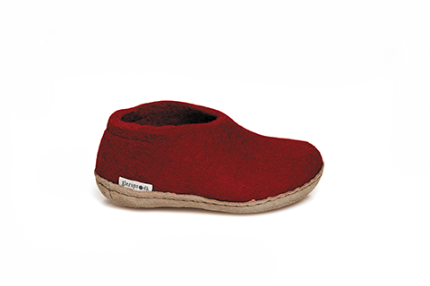 Glerups Shoe Junior Red