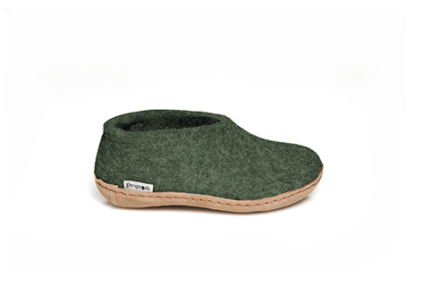 Glerups Shoe Junior Forest Green