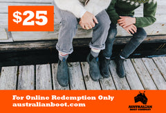 Gift Cards Australian Boot Company $25 Gift Card