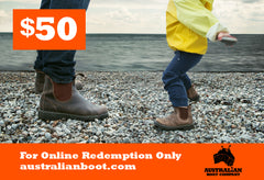 Gift Cards Australian Boot Company $50 Gift Card