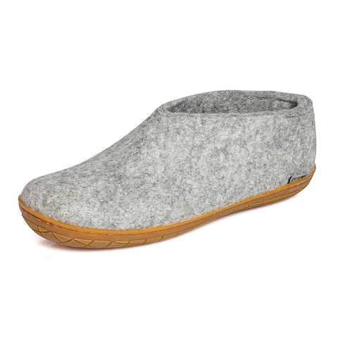 Glerups Shoe Grey Rubber