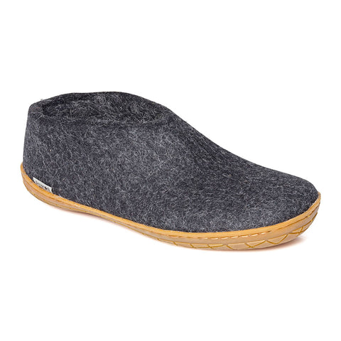 Glerups Shoe Charcoal Rubber