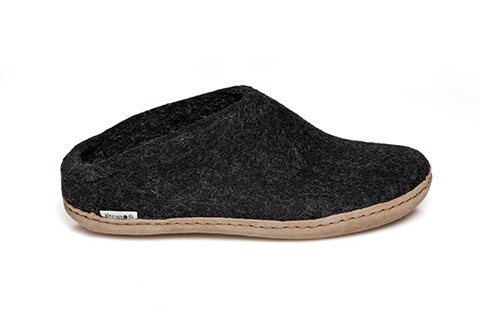 Glerups Slip-On Charcoal