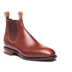 R.M. Williams B543 The Comfort Craftsman Yearling in Dark Tan