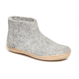 Boot with Leather Sole in Grey