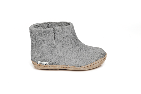Glerups Boot Junior Grey