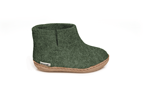 Glerups Boot Junior Forest Green