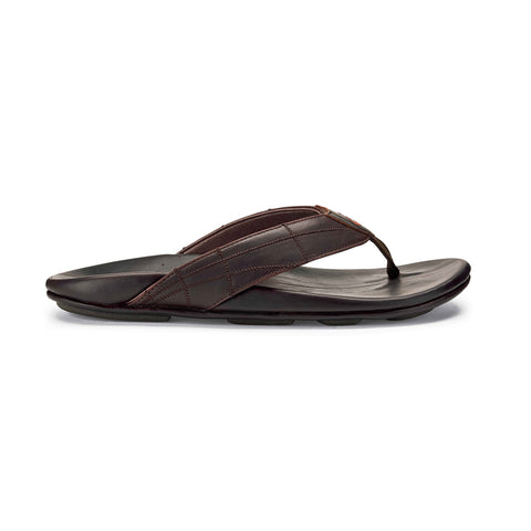 OluKai Men's Hokule'a Kia Dark Wood