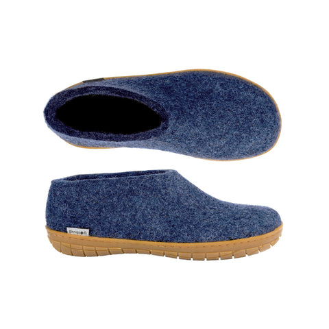 Shoe Rubber Sole Denim