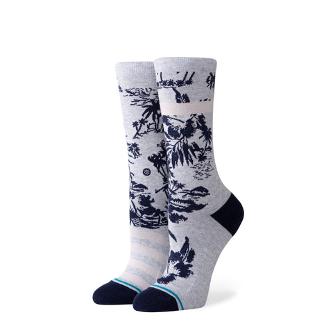 Stance Women's Harbor Crew Grey
