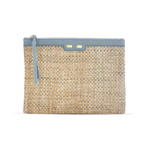 Penny in Pioggia and Rain Raffia - BENE Handbags