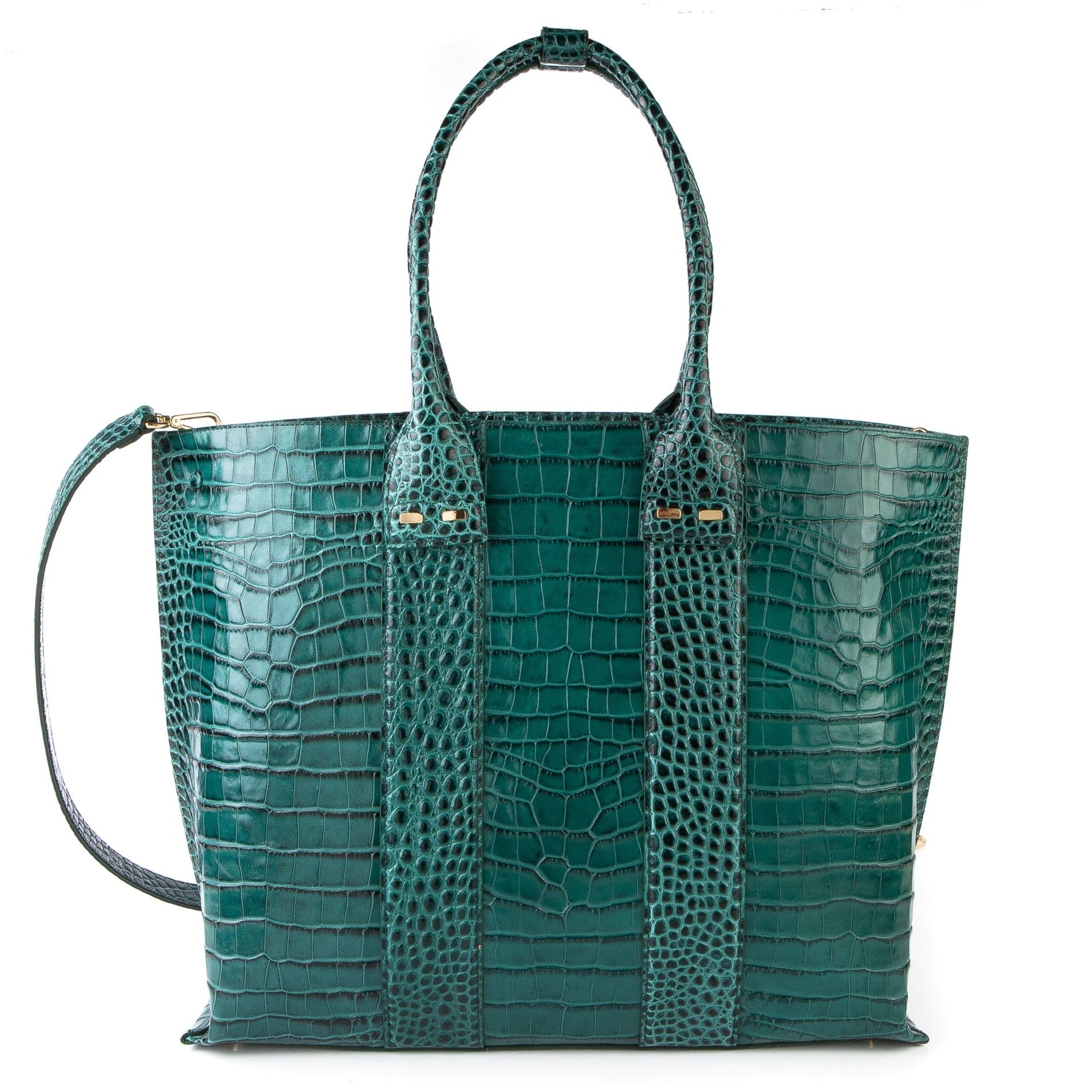 Stafford in Emerald in Alligator Stamp