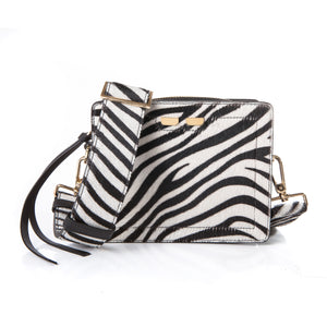 Fairfax in Zebra Calf hair