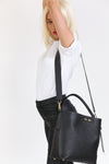 Bud Bucket in Black - BENE Handbags