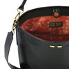 Bud Bucket in Black Alligator - BENE Handbags
