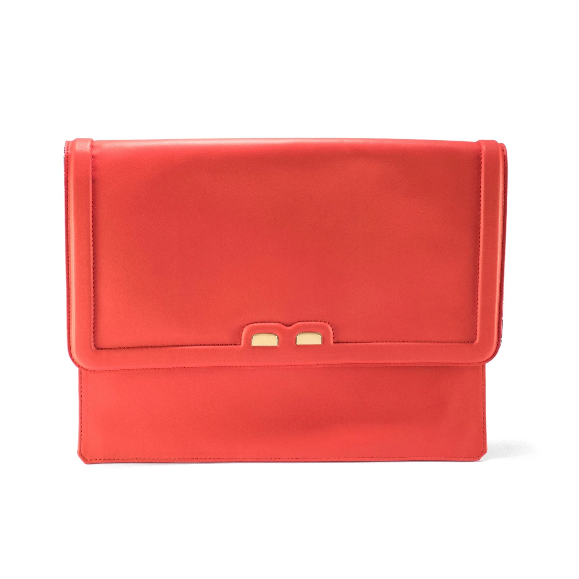 Caffery in Coral Red - BENE Handbags